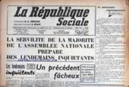 REPUBLIQUE SOCIALE (LA) no:664 12/05/1960