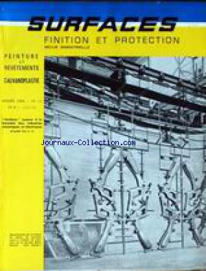 SURFACES FINITION ET PROTECTION no:11 01/05/1964