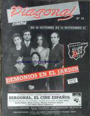 DIAGONAL CINEMA no:24 28/10/1987