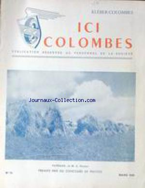 ICI COLOMBES no:14 01/03/1949