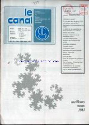 CANAL (LE) no:81 01/12/1980