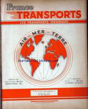 FRANCE TRANSPORTS no: 01/01/1952