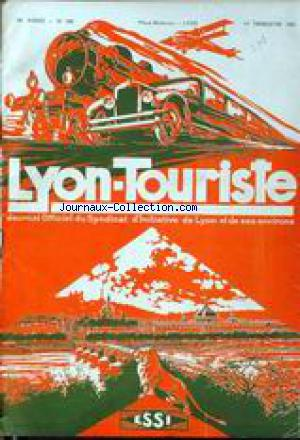 LYON TOURISTE no:266 01/01/1935