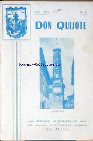 DON QUIJOTE no:8 01/05/1952