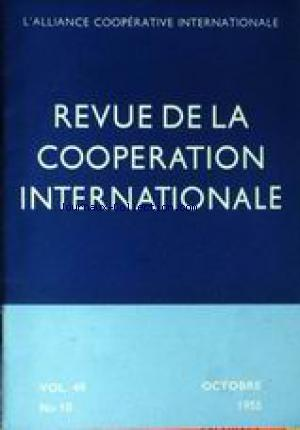 REVUE DE LA COOPERATION INTERNATIONALE no:48 01/10/1955