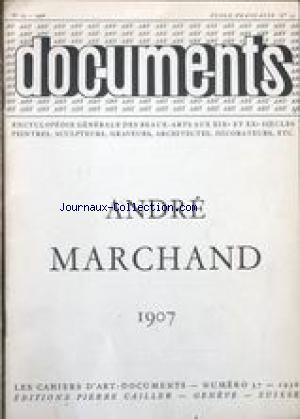 DOCUMENTS / CAHIERS D'ART no:13 01/01/1956