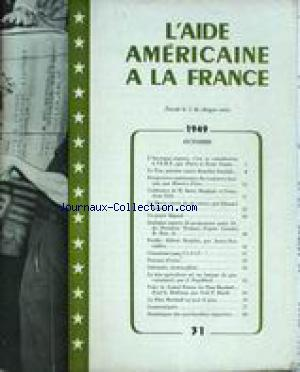 AIDE AMERICAINE A LA FRANCE (L') no:31 01/10/1959