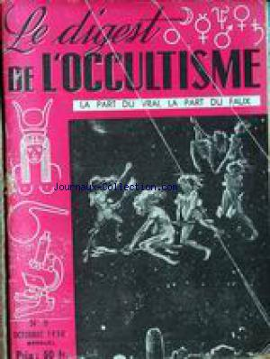 DIGEST DE L'OCCULTISME (LE) no:5 01/01/1950