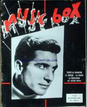 MUSIC BOX no:22 01/09/1957