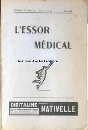 ESSOR MEDICAL (L') no:5 01/06/1928