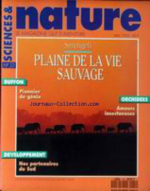 SCIENCES ET NATURE no:22 01/05/1992