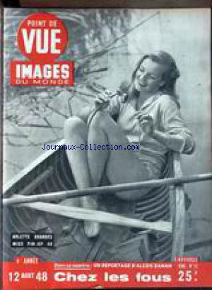 POINT DE VUE IMAGES DU MONDE no:12 12/08/1948