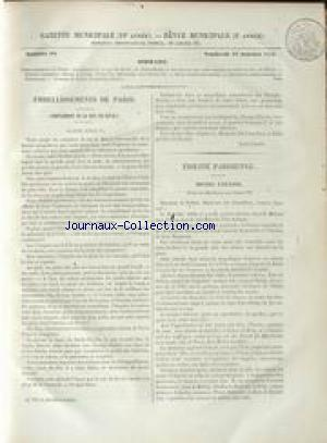 GAZETTE MUNICIPALE no:90 16/01/1852