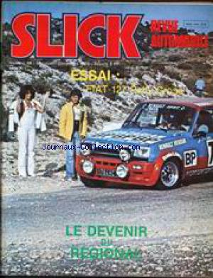 SLICK REVUE AUTOMOBILE no:19 01/12/1978