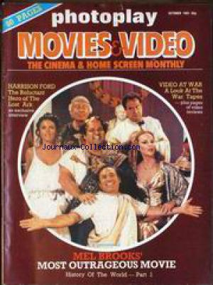 PHOTOPLAY MOVIES AND VIDEO no: 01/10/1981