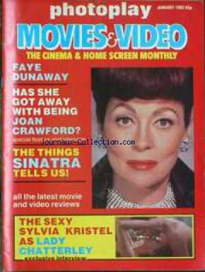 PHOTOPLAY MOVIES AND VIDEO no: 01/01/1982