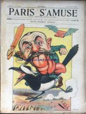 PARIS S'AMUSE no:6 19/11/1905