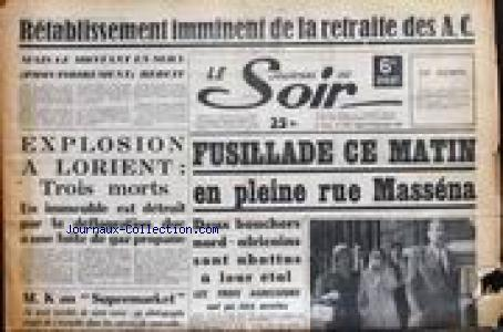 JOURNAL DU SOIR (LE) no:2959 22/09/1959