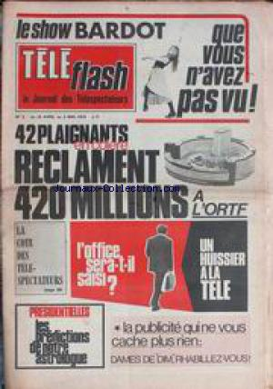 TELE FLASH no:2 25/04/1974
