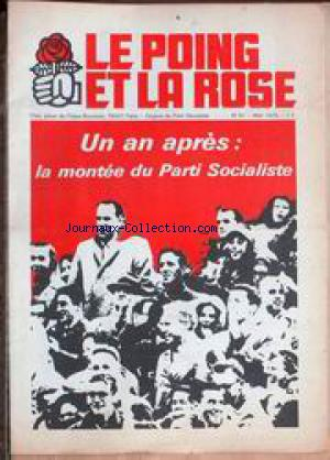 POING ET LA ROSE (LE) no:41 01/05/1975