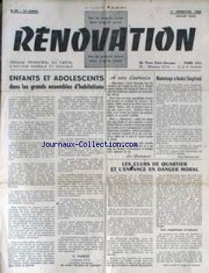 RENOVATION no:40 01/01/1960