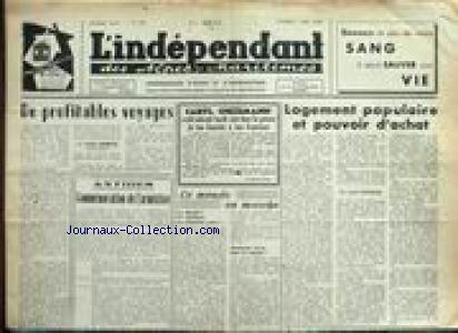 INDEPENDANT DES ALPES MARITIMES (L') no:569 17/05/1960