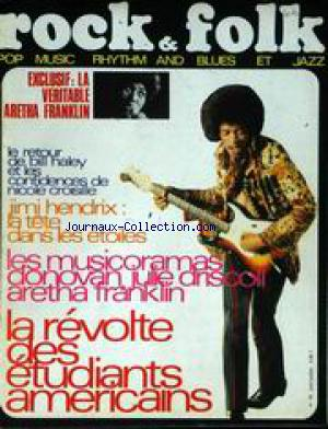ROCK AND FOLK no:19 01/06/1968