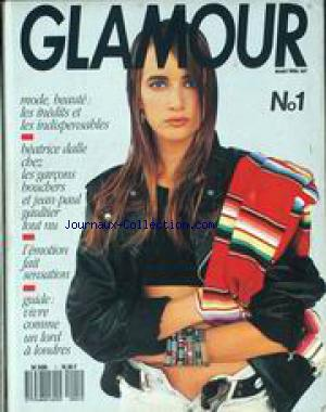 GLAMOUR no:1 01/03/1988