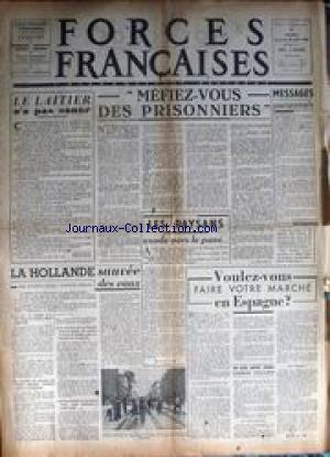 FORCES FRANCAISES no:11 11/08/1945