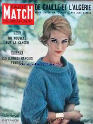 PARIS MATCH no:526 09/05/1959