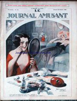 JOURNAL AMUSANT (LE) no:76 23/10/1920