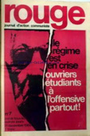 ROUGE no:7 11/12/1968