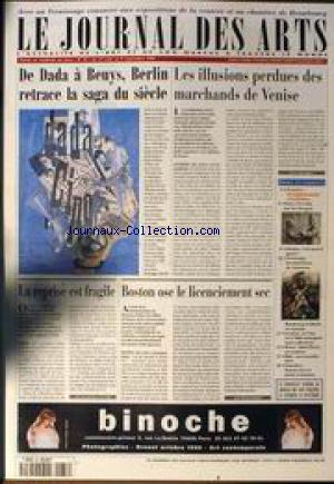 JOURNAL DES ARTS (LE) no:87 27/08/1999