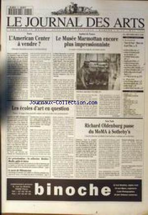 JOURNAL DES ARTS (LE) no:14 01/05/1995