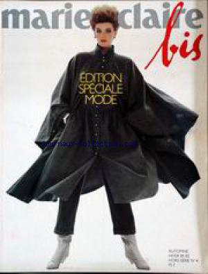 MARIE CLAIRE BIS no:4 01/09/1981