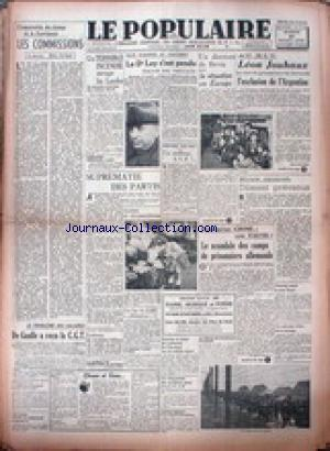 POPULAIRE DE PARIS (LE) no: 27/10/1945