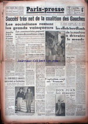 PARIS PRESSE no: 02/10/1945