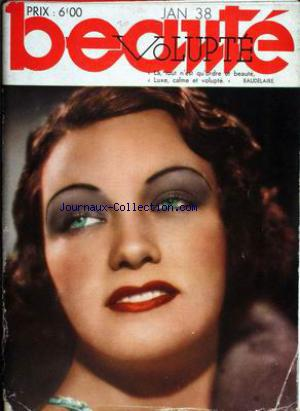BEAUTES VOLUPTE no: 01/01/1938