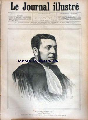 JOURNAL ILLUSTRE (LE) no:16 17/04/1887
