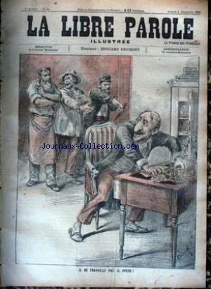 LIBRE PAROLE ILLUSTREE (LA) no:21 02/12/1893