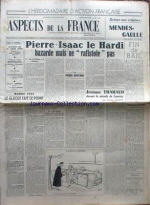 ASPECTS DE LA FRANCE no:318 15/10/1954