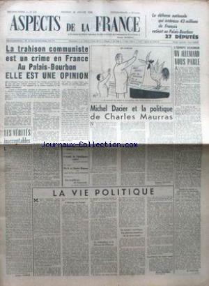 ASPECTS DE LA FRANCE no:228 30/01/1953