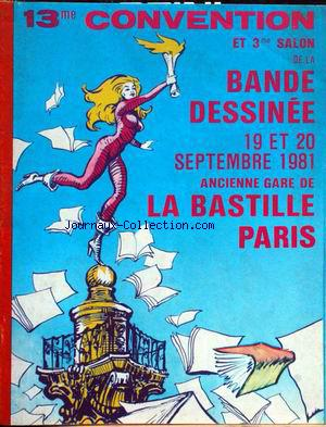 SALON DE LA BANDE DESSINEE no: 19/09/1981