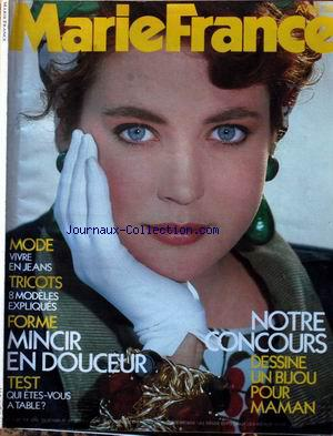 MARIE FRANCE no: