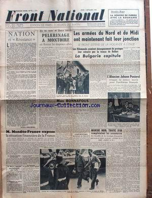 FRONT NATIONAL no:16 07/09/1944