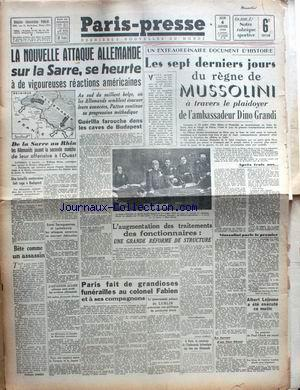 PARIS PRESSE no: 04/01/1945