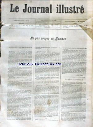 JOURNAL ILLUSTRE (LE) no:30 22/07/1883