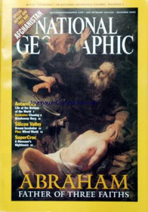 NATIONAL GEOGRAPHIC no: 01/12/2001