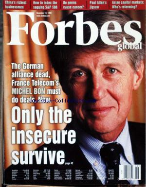 FORBES GLOBAL no:46 15/11/1999