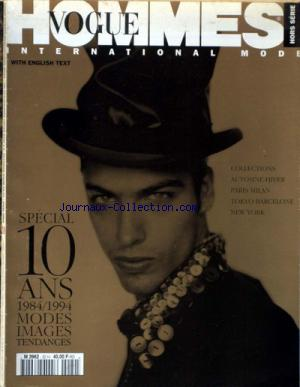 VOGUE HOMMES INTERNATIONAL no:20